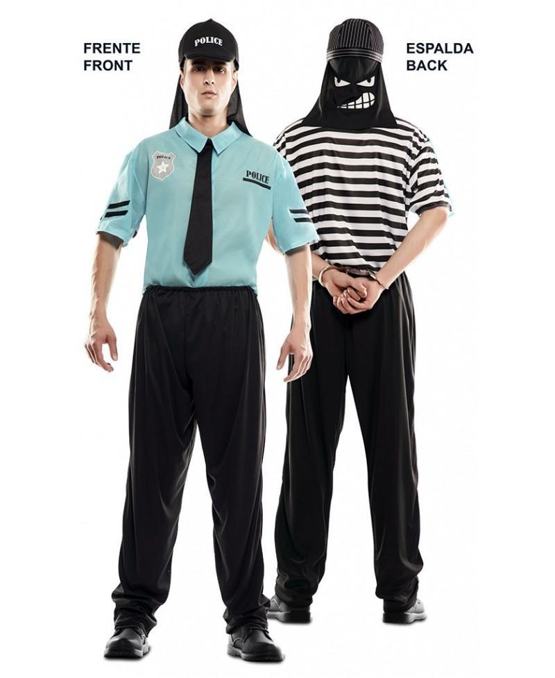 Disfraz Dobel Fun Policia- Ladrón