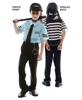 Disfraz Doble Fun Policia-Ladrón