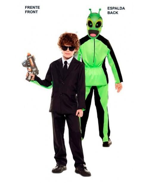 Disfraz Dobel Fun Traje Negro-Alien