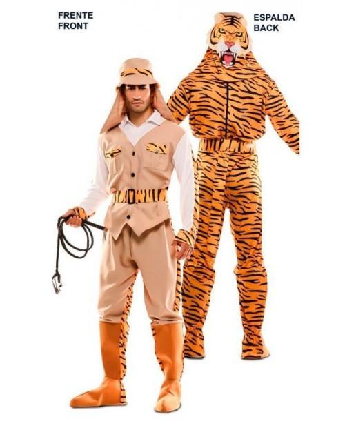 Disfraz Doble Fun Cazador-Tigre