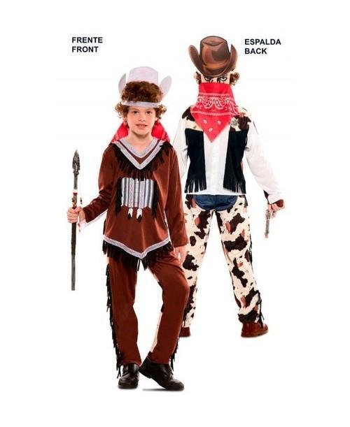 Disfraz Doble Fun Indio-Vaquero
