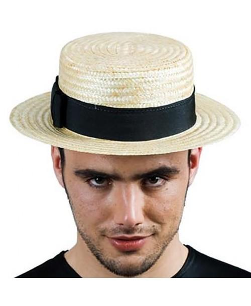Sombrero Canotier de Paja