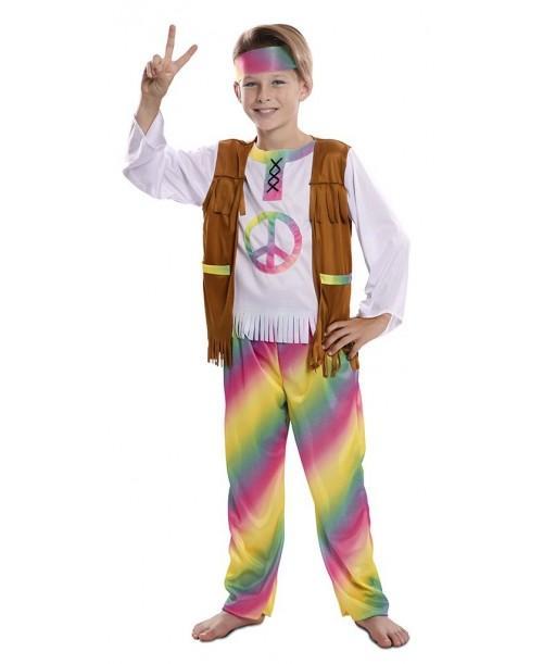 Disfraz de Hippie Arcoiris