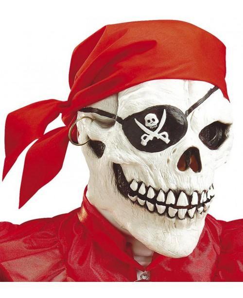 Máscara Calavera Pirata
