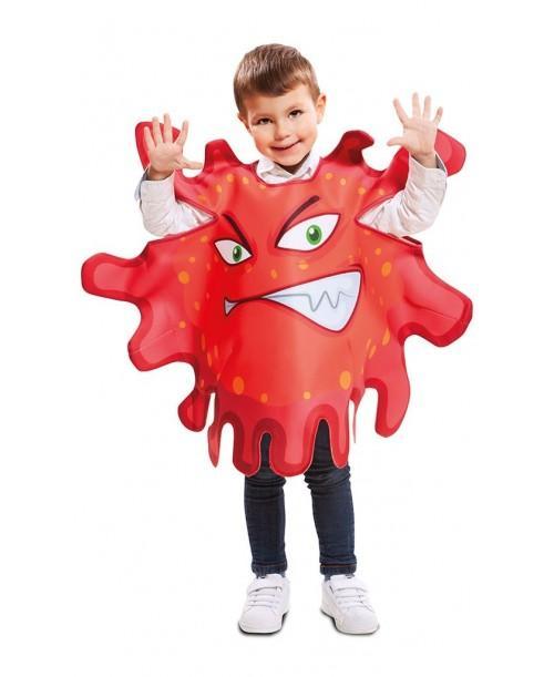 Disfraz de Bacteria Roja