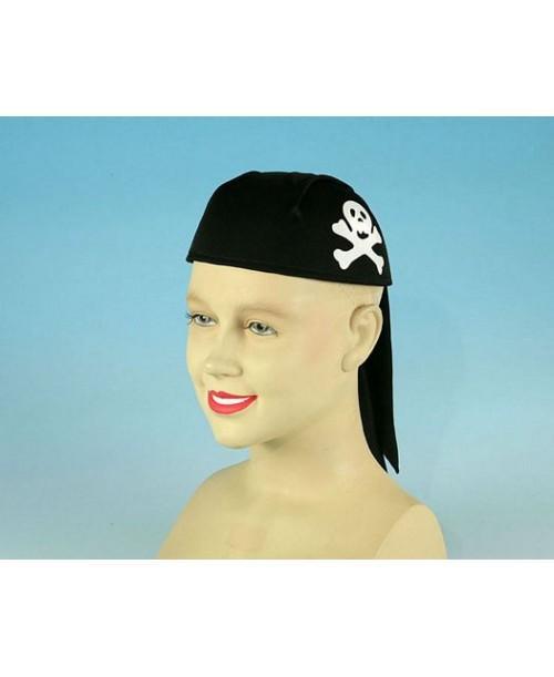 Pañuelo casco pirata niño