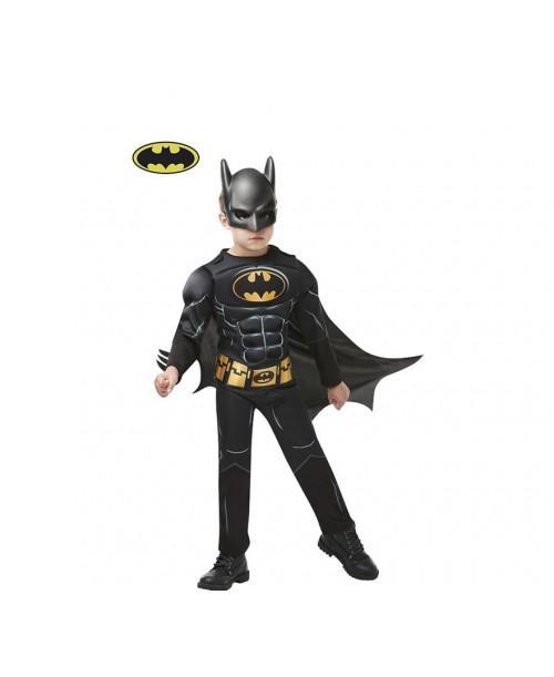disfraz Batman Black Core en Caja para Niño