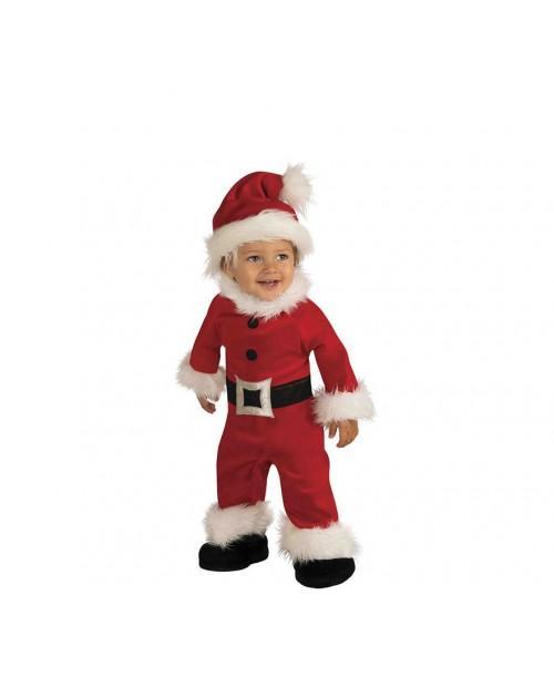 Disfraz de Papa Noel Infantil de Luxe