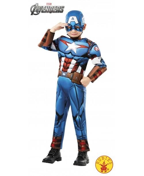 Disfraz Capitán America de Luxe