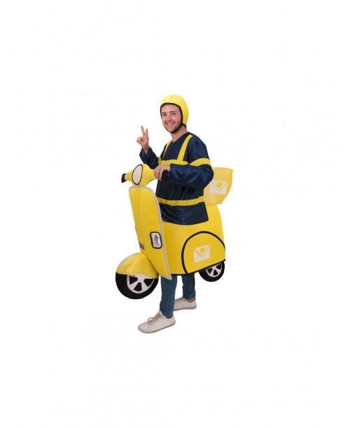 Disfraz de moto Postal