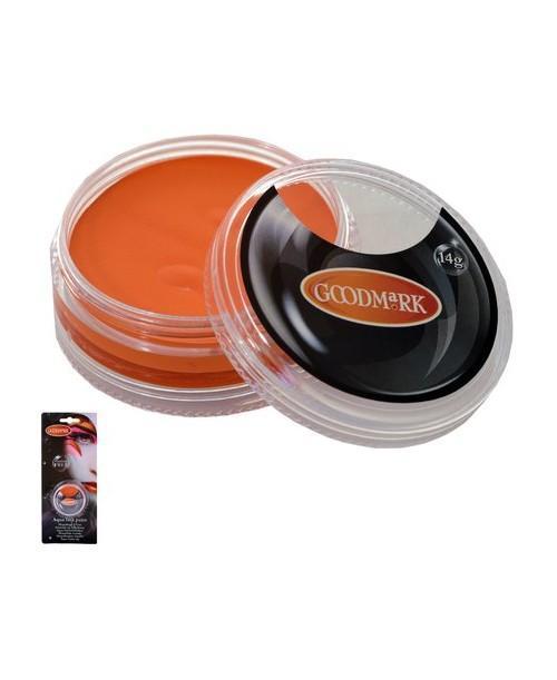 Maquillaje al agua Naranja