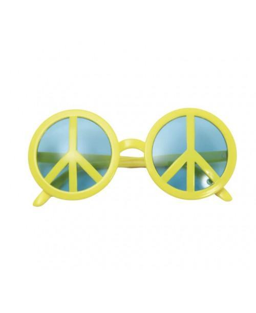 Gafas Símbolo de la Paz Amarillas