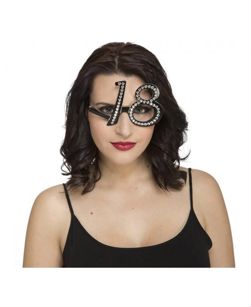 Gafas 18 con Brillantes
