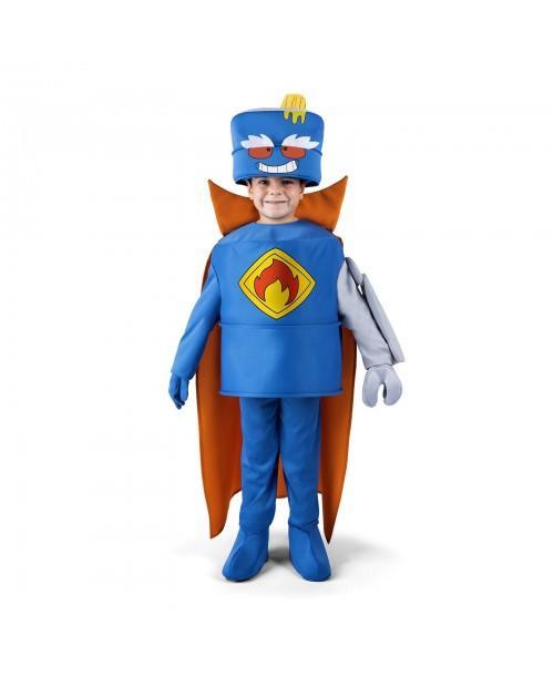 Disfraz de Mr.King de Superzings Infantil