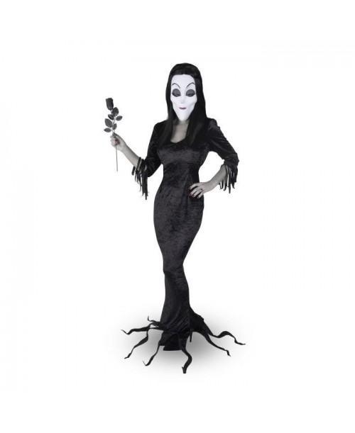 Disfraz de Morticia Addams Adulto