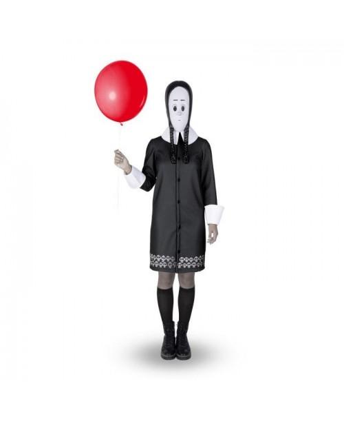 Disfraz de Miércoles Addams Adulto