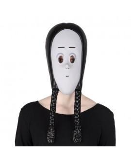 Máscara de Miércoles Addams