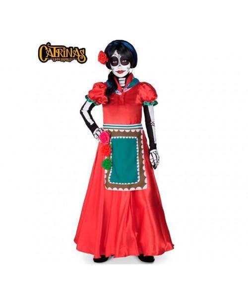 Disfraz de catrina Rosabella Adulto.