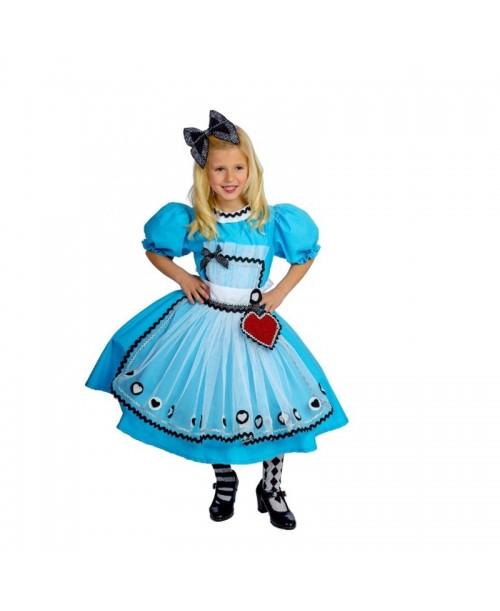 Disfraz de Alicia Infantil.