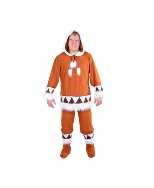 Disfraz de Esquimal Adulto.