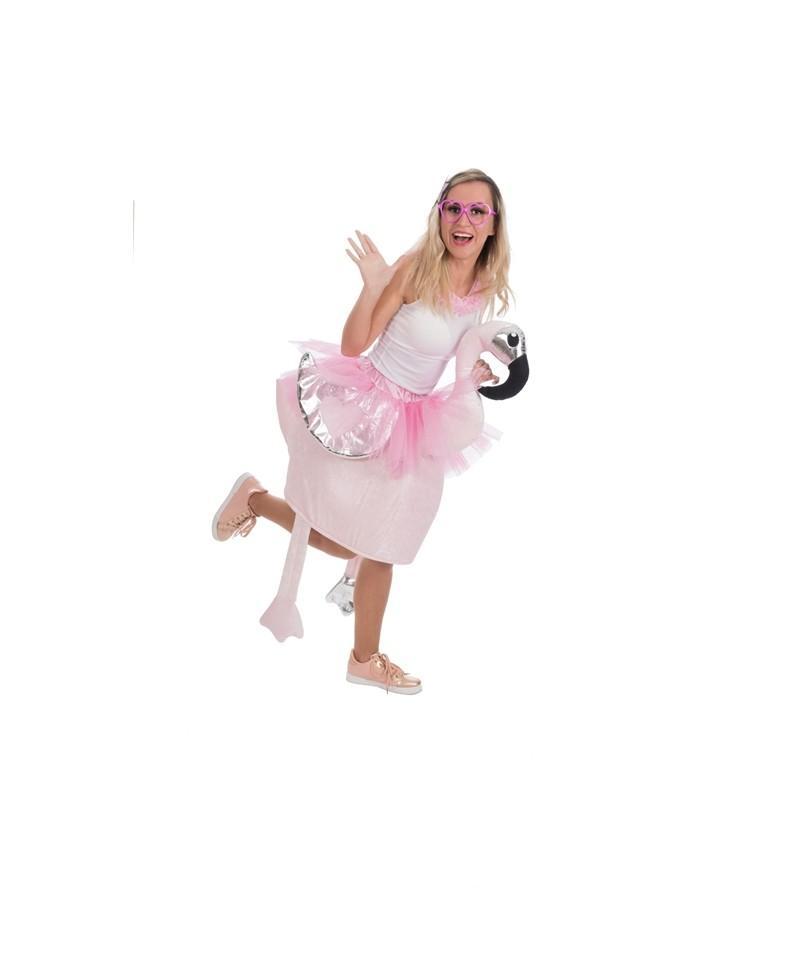 Disfraz de Flamenco Adulto.