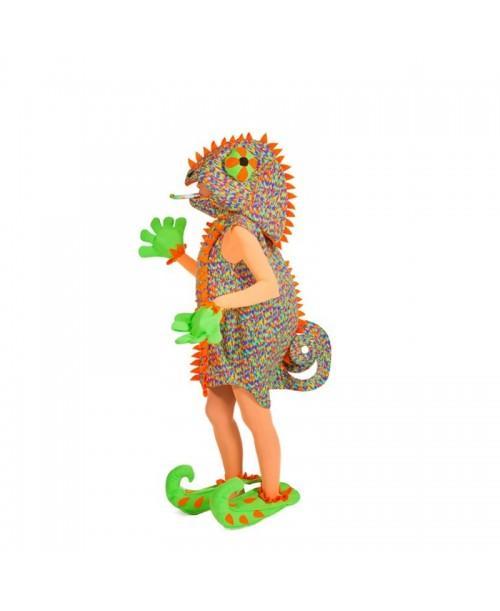 Disfraz de Camaleón Mujer.