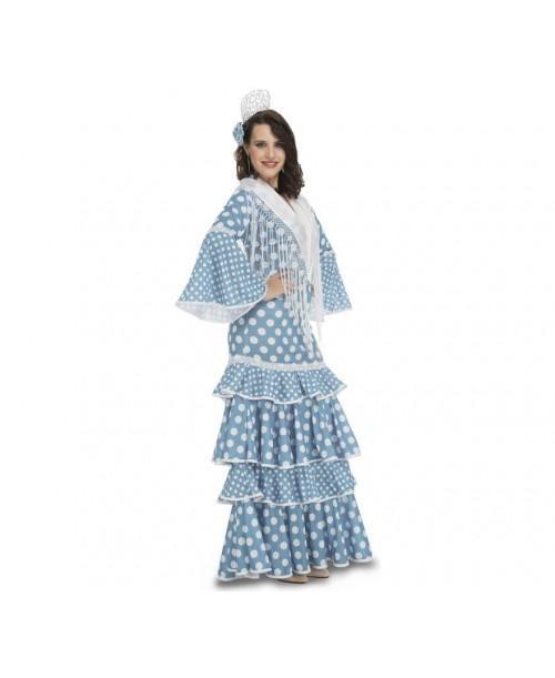 Disfraz de Flamenca Huelva Adulto.