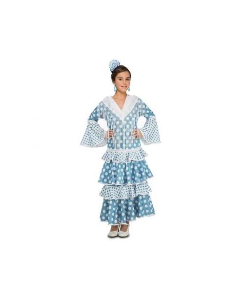 Disfraz de Flamenca Guadalquivir Infantil.