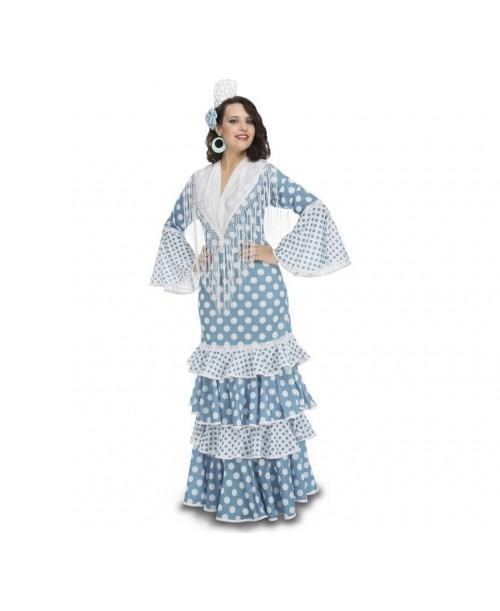 Disfraz de Flamenca Guadalquivir Adulto.
