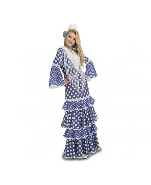 Disfraz de Flamenca Alvero Adulto.