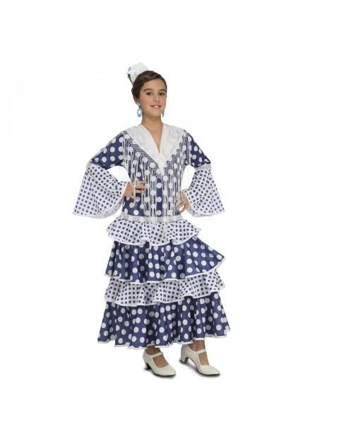 Disfraz de Flamenca Soleá Infantil.