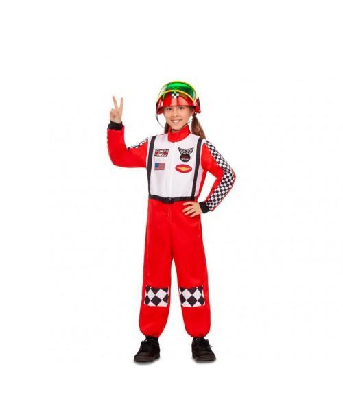 Disfraz de Piloto de Carreras Infantil.