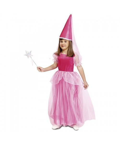 Disfraz de Hada Rosa Infantil.