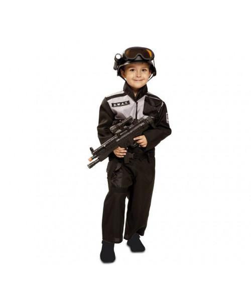 Disfraz de policia Swat Infantil.