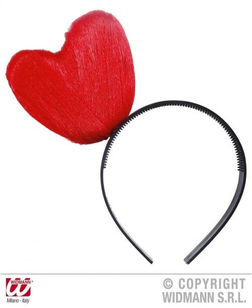 Diadema Corazón Rojo