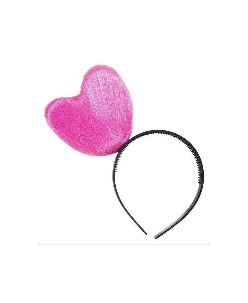 Diadema Corazón Rosa