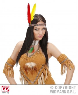 Cinta Indio con 2 plumas