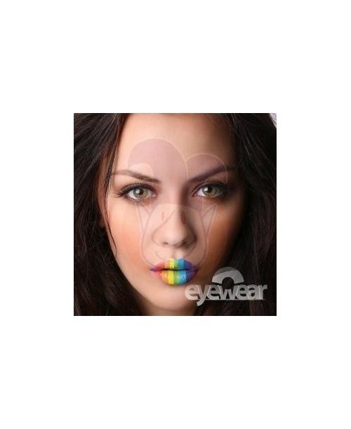 Labio rayas arcoiris