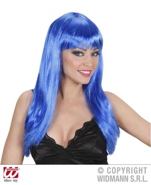 Peluca Beautiful Azul