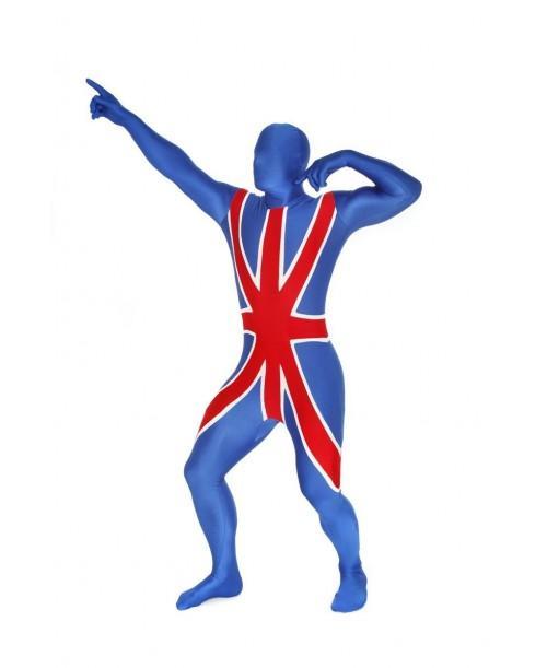 Disfraz de Inglaterra Morphsuit