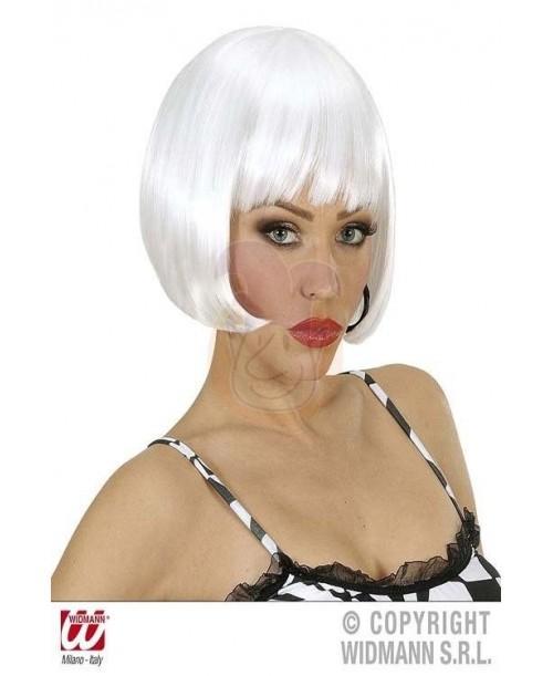 Peluca Valentina blanca