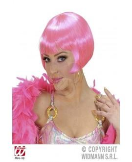 Peluca Valentina rosa