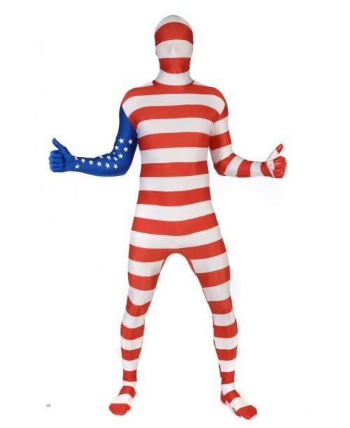 Disfraz de Usa Morphsuit