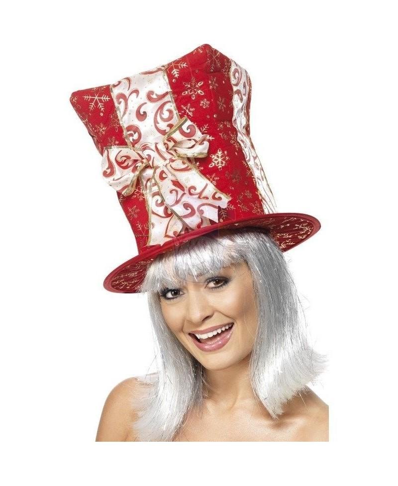 Sombrero Regalo Rojo