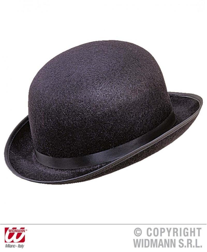 Sombrero Bombín Grande negro