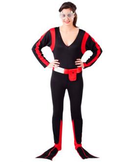 Disfraz de Submarinista Chica