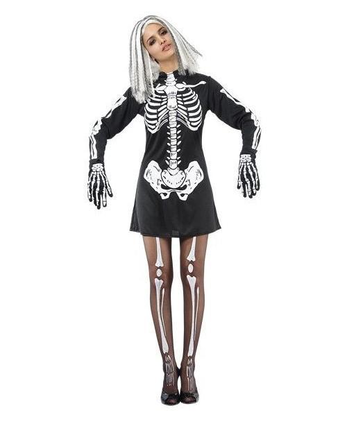 Disfraz Esqueleto Mujer