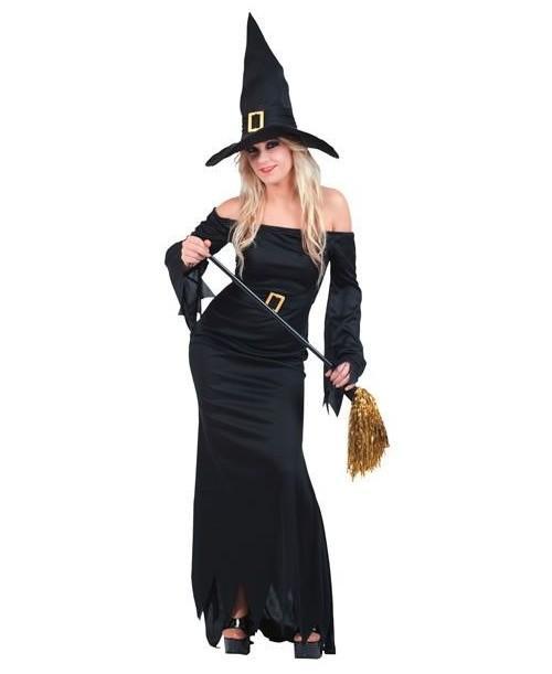 Disfraz Bruja Negro