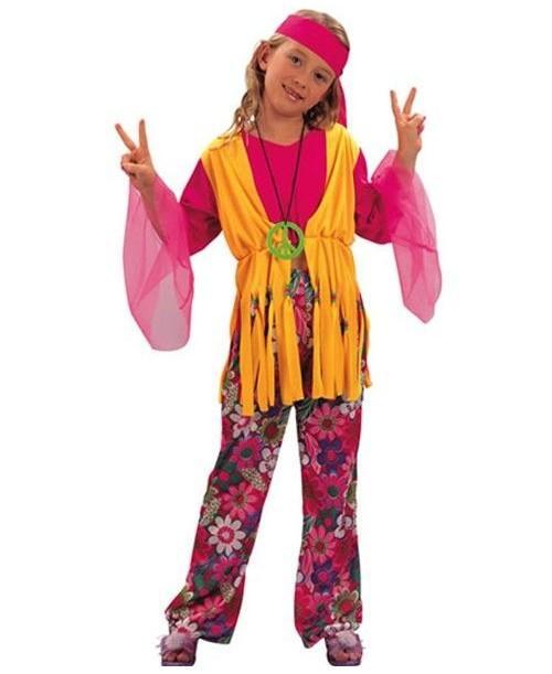 Disfraz de Hippie para Niñas