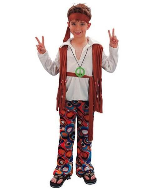 Disfraz de Hippie Niños